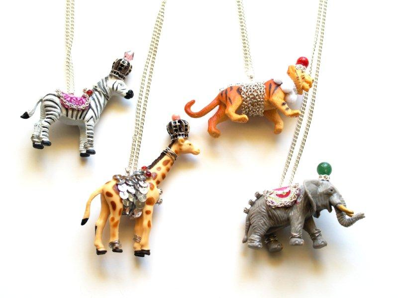 diy collier animaux