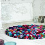 Pompons tapis