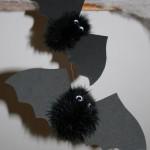 Pompons chauve souris