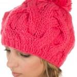 Pompon bonnet