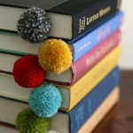 Pompons marque pages