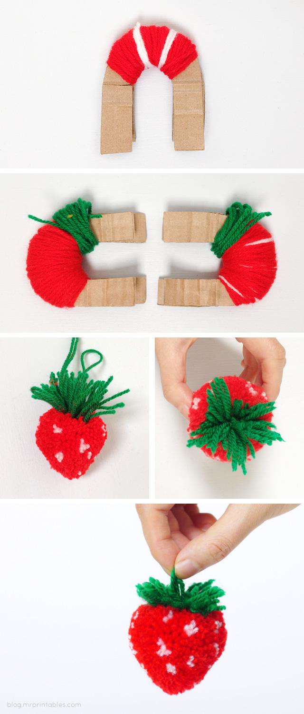 pompon fraise