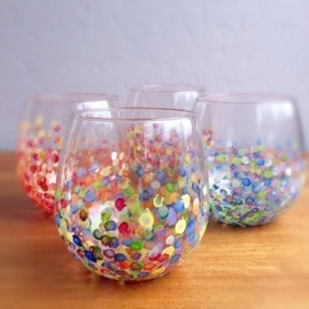 Peinture sur verre - Customiser table en verre ...