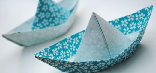 diy bateau origami