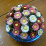 diy marguerites recyclees